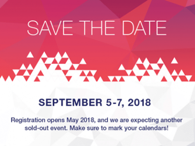 XDS 2018 Save the Date!