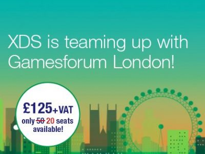 XDS is Teaming Up With Gamesforum London!