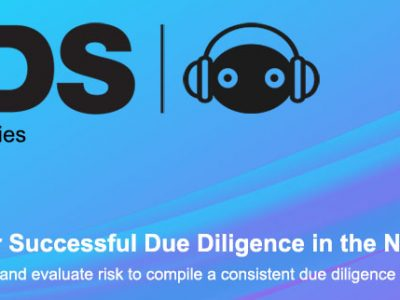 XDS Webinar Series – Edition 6: 4-Steps for Successful Due Diligence in the New Normal