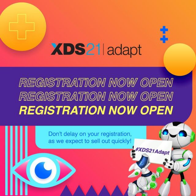 It's an exciting time for #ExternalDevelopment,  as #XDS21Adapt registration is now open! Link in bio to register.